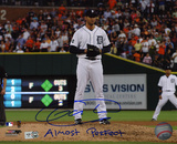 Armando Galarraga Detroit Tigers with Almost Perfect  Autographed Photo (Hand Signed Collectable) Photo