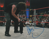 Abyss with The Monster Inscription Autographed Photo (Hand Signed Collectable) Photo