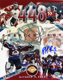 Patrick Roy -448 Wins Autographed Photo (Hand Signed Collectable) Photo