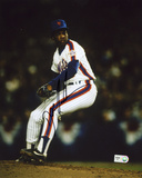"""Dwight """"Doc"""" Gooden New York Mets - On the Mound Autographed Photo (Hand Signed Collectable) Photo"""