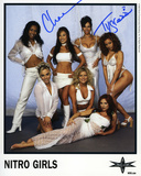 Nitro Girls- Chae/Tygress WCW Autographed Photo (Hand Signed Collectable) Photo