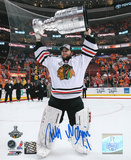 Antti Niemi Chicago Blackhawks 2010 Stanley Cup Autographed Photo (Hand Signed Collectable) Photo