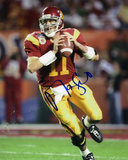 Matt Leinart USC Trojans - Looking Downfield Autographed Photo (Hand Signed Collectable) Photo