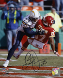 Quentin Jammer San Diego Chargers Autographed Photo (Hand Signed Collectable) Photo