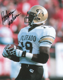 Rashaan Salaam Colorado Buffaloes Autographed Photo (Hand Signed Collectable) Photographie