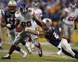 Hakeem Nicks New York Giants Super Bowl XLVI Photo