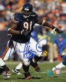 Tommie Harris Chicago Bears Autographed Photo (Hand Signed Collectable) Photo