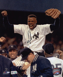 """Dwight """"Doc"""" Gooden New York Yankees - On Shoulders Autographed Photo (Hand Signed Collectable) Photo"""