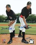 Dinesh Patel and Rinku Singh with 7-4-09 inscription Autographed Photo (Hand Signed Collectable) Photo