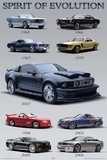 Mustang (Spirit of Evolution) Posters