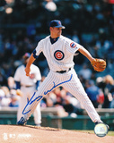 Kerry Wood Chicago Cubs White Jersey Autographed Photo (Hand Signed Collectable) Photo