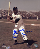 Monte Irvin Giants with HOF 73 Inscription Photographie