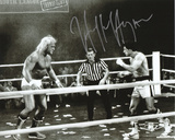 Hulk Hogan - WWE - Rocky III Autographed Photo (Hand Signed Collectable) Photo