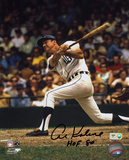 Al Kaline Detroit Tigers with HOF 80 Inscription Autographed Photo (Hand Signed Collectable) Photo