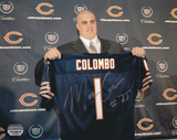 Marc Colombo Chicago Bears Autographed Photo (Hand Signed Collectable) Photo
