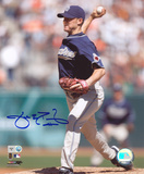 Jake Peavy San Diego Padres Autographed Photo (Hand Signed Collectable) Photo