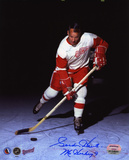Gordie Howe Detroit Red Wings with ''Mr. Hockey''  Autographed Photo (Hand Signed Collectable) Photo