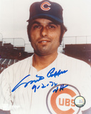 "Milt Pappas Chicago Cubs w/ Inscription ""NH 9-2-72"" Photo"