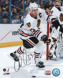 Adrian Aucoin Chicago Blackhawks Autographed Photo (Hand Signed Collectable) Photo