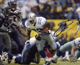 Emmitt Smith Dallas Cowboys -Record Breaker Run Autographed Photo (Hand Signed Collectable) Photo