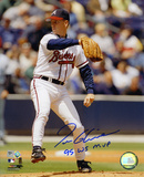Tom Glavine Atlanta Braves with 1995 World Series MVP  Autographed Photo (Hand Signed Collectable) Photo