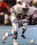 Larry Little Miami Dolphins with HOF 93 Inscription Autographed Photo (Hand Signed Collectable) Photo