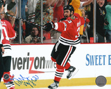 Dustin Byfuglien Chicago Blackhawks 2010 Stanley Cup Autographed Photo (Hand Signed Collectable) Photo