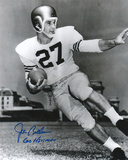 Joe Bellino Navy Midshipmen with 60 Heisman Inscription Photo