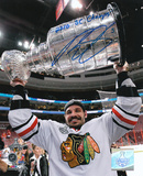Brent Sopel Chicago Blackhawks 2010 Stanley Cup with &#39;10 Champs Inscription Photo