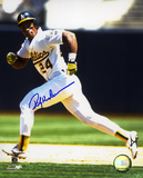 Rickey Henderson Oakland Athletics Autographed Photo (Hand Signed Collectable) Photo