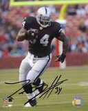 LaMont Jordan Oakland Raiders Autographed Photo (Hand Signed Collectable) Photo