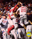 Kevin Youkilis Boston Red Sox 2007 World Series Champs Autographed Photo (Hand Signed Collectable) Foto