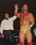 Hulk Hogan - WWE - With Ali Autographed Photo (Hand Signed Collectable) Photo