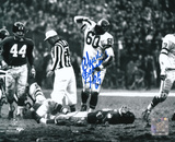 Chuck Bednarik Philadelphia Eagles with HOF 67  Autographed Photo (Hand Signed Collectable) Photographie