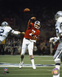 Craig Morton Denver Broncos with 77 Comeback POY  Autographed Photo (Hand Signed Collectable) Photo