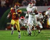Reggie Bush USC Trojans Autographed Photo (Hand Signed Collectable) Photo