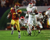 Reggie Bush USC Trojans Autographed Photo (Hand Signed Collectable) Photo