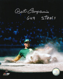 Bert Campaneris Oakland Athletics with 649 Steals Inscription Photo