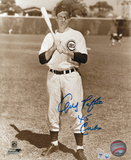 Andy Pafko Chicago Cubs with '45 Cubs Inscription Photo