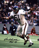 Dick Butkus Chicago Bears -Arms Up- with HOF 79 Inscription Photo