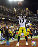 Santonio Holmes PittsburgSteelers Super Bowl XLIII Autographed Photo (Hand Signed Collectable) Photo