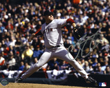Curt Schilling Boston Red Sox Autographed Photo (Hand Signed Collectable) Photo