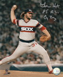Lamarr Hoyt Chicago White Sox with 83 AL CY Inscription Autographed Photo (Hand Signed Collectable) Photo