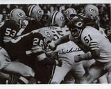 Dick Butkus Chicago Bears - vs. Packers Autographed Photo (Hand Signed Collectable) Photo