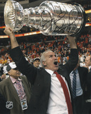 Joel Quenneville Blackhawks 10 Stanley Cup Champs Autographed Photo (Hand Signed Collectable) Photo