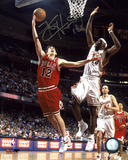Kirk Hinrich Chicago Bulls vs. LeBron James Autographed Photo (Hand Signed Collectable) Photo