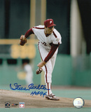 Steve Carlton Philadelphia Phillies with HOF &#39;94 Inscription Photo