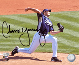 Chris Young San Diego Padres Autographed Photo (Hand Signed Collectable) Photo