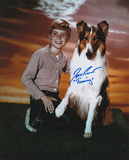 Jon Provost -Lassie with Timmy Inscription Photo