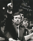 Dick Motta Chicago Bulls with 71 Coach of Year Inscription Photo
